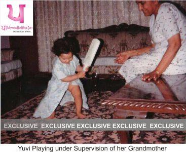 yuvi with grandmother