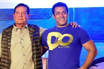 सलमान खान with father salim khan