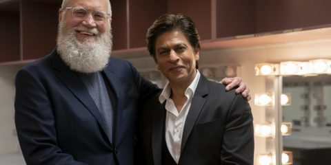 शाहरुख Introduction with David Letterman