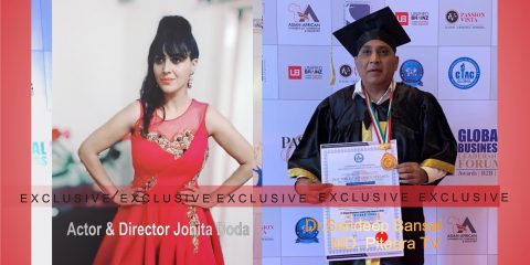 actress jonita doda awarded most ravishing actor