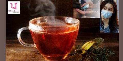 ginger tea can help fight corona