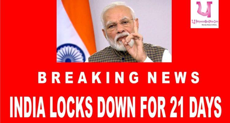 PM Modi announces lockdown